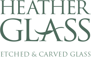 Examples of etched and carved glass